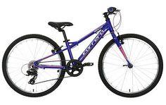 "image of Carrera Saruna Girls Hybrid Bike - 24"""