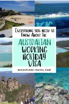 Travel Australia To New Zealand Info: 6196376975 Australia Holidays, Work In Australia, Australia Travel Guide, Visit Australia, Australia Crafts, Australia Visa, Cairns Australia, Melbourne Australia, Working Holiday Visa