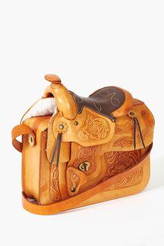 Tooled Saddle Purse Leather Carving 3616ea3f5eb0f