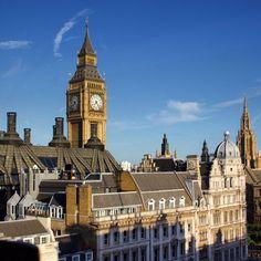 Westminster Rooftops   #Londnr #London #Westminster #BigBen #Parliament