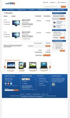 Warenkorb TLC Magento Onlineshop Basic.  Mehr unter: http://www.tlc-communications.de/produkte/e-commerce/onlineshop-basic.html