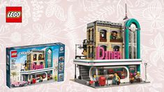 LEGO Speed Build  Creator Downtown Diner 10260  Let's Build Deutsch sToNe2k6