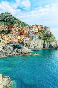 Manarola, Cinque Terre, from 23 Amazing Places You Must Include On Your Italian Road Trip