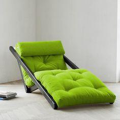 Sesselbett Figo Wenge Grün, 259€, jetzt auf Fab.