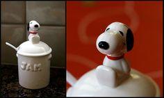 My #Snoopy jam jar