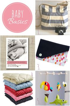 Briefe an Pia: Unsere Baby Basics.