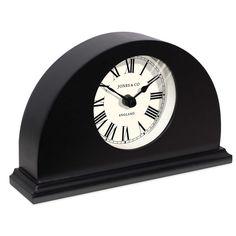 Jones® Clocks Grange Mantel Clock in Black
