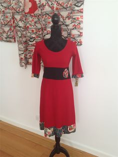 Red Miracle Dress  XS