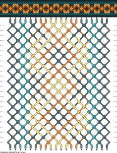 20 strings, 4 colors