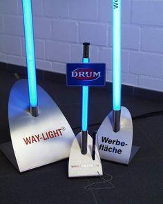 Befestigungssysteme WAY-LIGHT Leuchtstab
