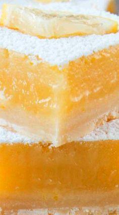 Thick Lemony Lemon Bars