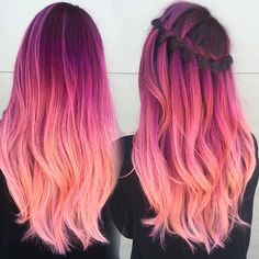 "{ Who also love ""Deep reds and rose"" combo? { Who also love ""Deep reds and rose"" combo?😍 { Who also love ""Deep reds and rose"" combo? Cute Hair Colors, Pretty Hair Color, Beautiful Hair Color, Hair Dye Colors, Ombre Hair Color, Bright Hair, Colorful Hair, Multicolored Hair, Aesthetic Hair"