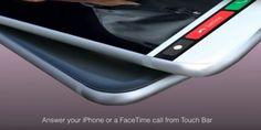 Nuevo concepto de iPhone 8 con Touch Bar - http://www.actualidadiphone.com/nuevo-concepto-de-iphone-8-con-touch-bar/