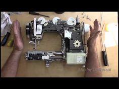 Bernette Chicago 7.Самостоятельный ремонт - YouTube