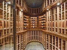 Modern Wine Cellar - Found on Zillow Digs. What do you think?