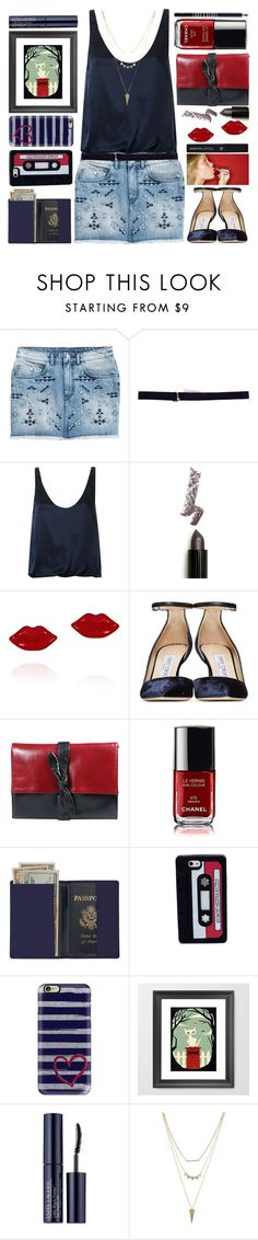 """Bez naslova #676"" by grozdana-v ❤ liked on Polyvore featuring H&M, Emilio Pucci, 3.1 Phillip Lim, Lime Crime, Jimmy Choo, Arbonne, Royce Leather, Marc by Marc Jacobs, Casetify and Estée Lauder"