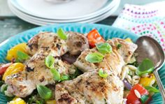 Rosemary and Lemon Chicken Thigh Fillets