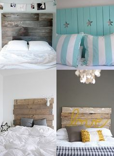 Top left headboard for master guest house bed!