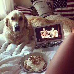Breakfast in bed ❤ #Padgram