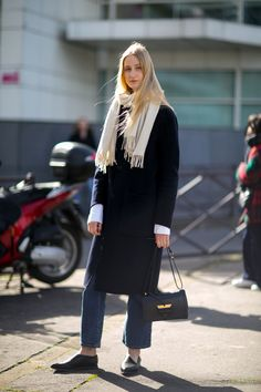 Charlotte Lindvig model off duty street style