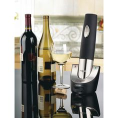 Don't fuss with traditional #wine bottle openers. User your #ScoreCardRewards for the cordless bottle opener for your upcoming #Thanksgiving #Dinner   Catalog # 33-7021