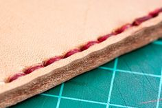 How to Hand Sew Thick Leather