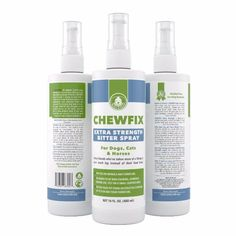 Extra Strength Pet Chew & Scratch Repellent - Chewfix Bitter Spray - Best Deterrent for Cat & Dog Indoor Furniture Training - Professional No-Stain No-Sting Formula - 100% 365 Day Guarantee by Barker & Pooch http://amzn.to/1RDdSdY #chewfix #vovcyan