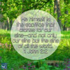 Bible verse ~ 1 John 2:2