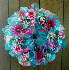 Spring Deco Mesh Wreath Everyday door wreath, WELCOME spring pink and lime green deco mesh deluxe wreath – Hastag Stalk – Spring Wreath İdeas. Mesh Ribbon Wreaths, Deco Mesh Ribbon, Christmas Mesh Wreaths, Wreaths And Garlands, Deco Mesh Wreaths, Floral Wreaths, Mesh Garland, Yarn Wreaths, Winter Wreaths