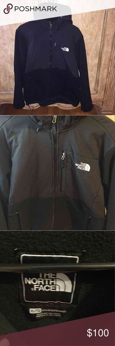 North Face Denali Basically brand new-only worn once for a few hours. Women's size XL. Black Hooded Denali. Selling because it's too big. Perfect condition. North Face Jackets & Coats