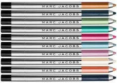 Marc Jacobs Beauty Summer 2015 Collection - Highliner Gel Eye Crayons – New & Permanent – $25.00