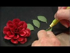 Paper Blossoms Rose - YouTube