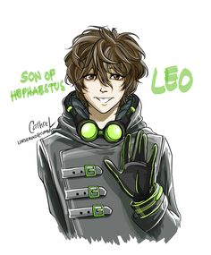 Leo: Son of Hephaestus by germanmissiles.deviantart.com on @deviantART<<< he looks steampunk... :/