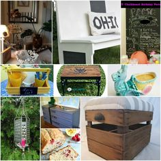 Fun DIY roundup of great projects to put on your to do list.
