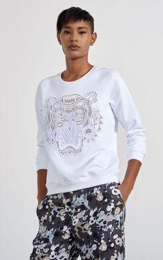 Kenzo, Mesh Tiger Sweatshirt
