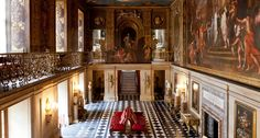 Chatsworth House - Painted Hall