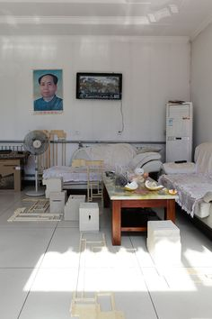 Behind The Walls Installation Art in Private Homes Beijing China Anja Margrethe Bache
