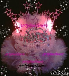 Princess Centerpiece love this! Princess Party Centerpieces, Birthday Party Centerpieces, Baby Shower Centerpieces, Diy Party Decorations, Birthday Party Themes, Birthday Ideas, Birthday Favors, 2nd Birthday, Happy Birthday