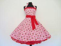 """Farb- und Stilberatung mit www.farben-reich.com -  """"Magdalena"""" 50er Jahre Petticoatkleid  von 50er Jahre Kleider/Petticoats auf DaWanda.com"""