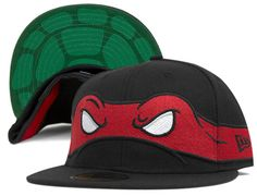 Rapheal 59Fifty Fitted Cap by TMNT x NEW ERA
