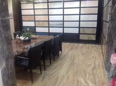 Our Chinese customer sent us this photos from his showroom with our ceramics in Shanghai.