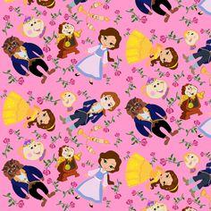 Beauty fabric by 1211lynn on Spoonflower - custom fabric