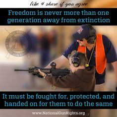 If we want to keep our freedoms, we must teach our freedoms. #2A