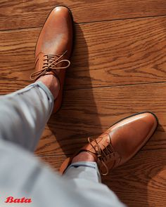 Get your holiday game on with classy lace-up brogues. Bata Shoes, Men's Shoes, Dress Shoes, Brogues, Loafers, Shoe Collection, Moccasins, Oxford Shoes, Lace Up