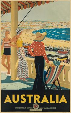 Take a trip into the past: rare Australian vintage travel posters – in pictures Informations About Take a trip into Retro Poster, Vintage Poster, Poster S, Vintage Travel Posters, Vintage Postcards, Vintage Art, Poster Prints, Vintage Paintings, Tourism Poster