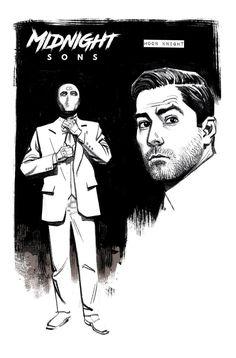 Moon Knight - by Greg Smallwood Comic Book Characters, Marvel Characters, Comic Books Art, Comic Art, Marvel Comics, Marvel Heroes, Knight Art, Moon Knight, Ian Mckellen