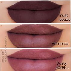 ABH liquid lipsticks - new colors