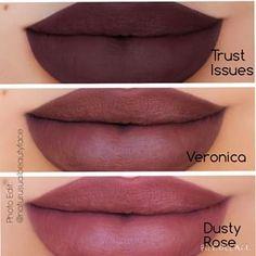 ABH liquid lipsticks - new colors