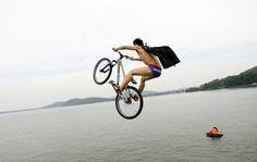 Donghu lake, Wuhan, China.