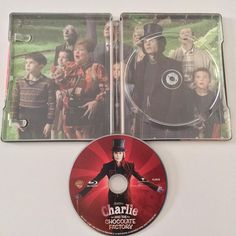 #1Day1Steelbook Charlie and The Chocolate Factory BluRay Steelbook from Japan  @amazon #steelbook #steelbookfan #steelbookaddict #steelbookcollection #bluray #bluraysteelbook #dvd #movie #JapanSteelbook #charlieandthechocolatefactory #charliertlachocolaterie #cinema #collection #Fan #moviecollection #collector #edition #johnnydepp #freddiehighmore #helenabonhamcarter #christopherlee @warnerbrosentertainment @planbentertainment